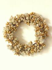 Vintage Dried Flower Stamen Style Wreath Flowers Candle Bridal Headdress