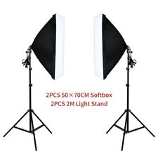 Studio Camera Lighting Equipment Kit Led,Softbox,Light Stand with Carry Bag