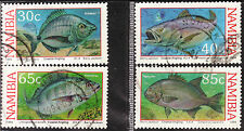 NAMIBIA 1994 FISH - COASTAL ANGLING COMPLETE POSTALLY USED SET 0310