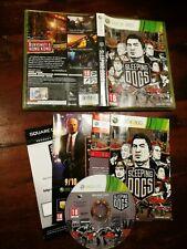 Sleeping Dogs Xbox 360 Ottima Edizione Italiana Completa