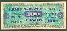 FRANCE 100 FRANCS VERSO FRANCE de 1944  ETAT: SPENDIDE  1 épinglage  # 485