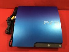 USED PlayStation 3 PS3 Console System 320GB Splash Blue game Japan CECH-3000BS