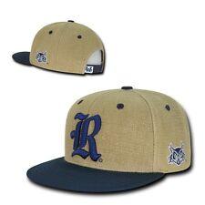 NCAA  Rice Owls University 6 Panel Constructed Heavy Jute Snapback Caps Hats