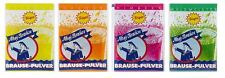500 x AHOJ BRAUSE PULVER - 4 DIFFERENT FLAVORS  - SWEETS CANDIES FROM GERMANY