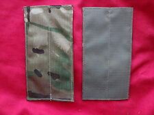 British Army Osprey MK4 Pack of 2X Blanking Panels - MTP - Used - Grade 1