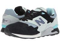 New Balance 878 Men's Sneaker Shoes Black Mint Cream ML878MBK
