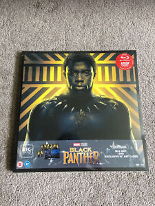 Black Panther  Blu-ray & DVD BIG SLEEVE
