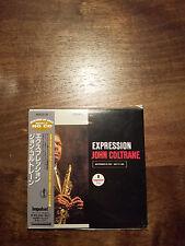 JOHN COLTRANE Expression mini LP CD,Japan, 20bit K2 HQ CD