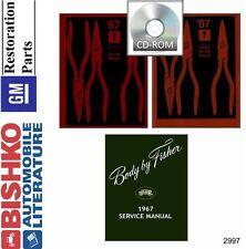 1967 Pontiac Catalina Firebird Service Shop Repair Manual CD Engine Drivetrain