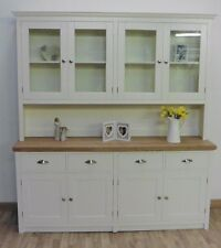 New Solid Pine 6ft Painted Welsh Dresser With A Rough Sawn Top In Any F B Colour