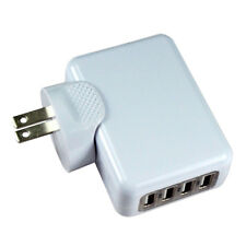 4 Port 2.1A Multi USB Portable Travel  Wall Charger US Plug Power Adapter