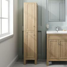 Oak Modern Tall Cabinets