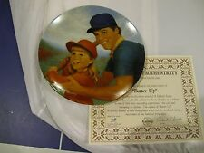 1984 Collector Plate Batter Up 2nd Issue A Fathers Love Series Betsey Bradley
