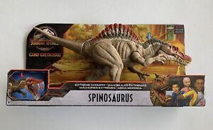 Jurassic World Camp Cretaceous Spinosaurus Extreme Chompin Dinosaur Figure NEW