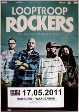 Looptroop Blikandistjörnur - 2011-concert affiche-professional-tourposter-Hambourg