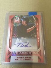 2013 Elite Extra Edition Franchise Futures #88 Tyler Wade Auto /699 Actual Scan