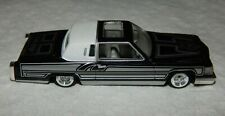 Revell 1981 Cadillac Coupe Deville Lowrider - Black & Silver Low Style - Nice!