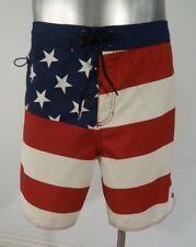 Tavik american flag modern beach men's surf board shorts 34 new