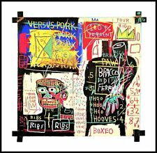 Jean Michel Basquiat Italian Version POPEYE Poster Art pression dans le cadre 70x70cm