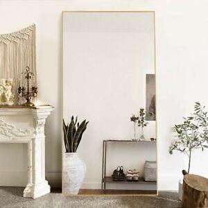 Ronan Simple Oversized Thin Aluminum Alloy Modern Full Length Mirror