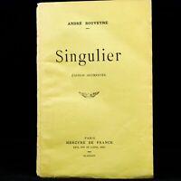 """🌓 EO André ROUVEYRE, """"Singulier"""" + """"FIN"""", édition augmentée + envoi autographe"""
