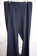 Lane Bryant Polyester & Rayon Blend Multi-Colored Striped Dress Pants Size - 18