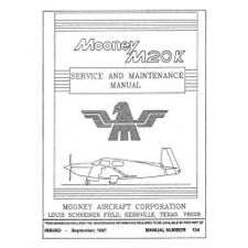 Mooney M20K Service & Maintenance Manual