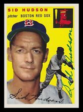 1954 Topps Archives Signed Autographed Sid Hudson Boston Red Sox 20693