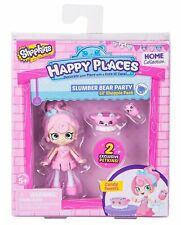 Shopkins Happy Places Slumber Bear Party Candy Figure With 2 Exclusive Petkins
