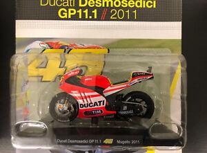 Modellino Moto  Valentino Rossi Ducati Mugello  Gp 2011.1 New  In Box + Scheda