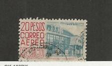 Mexico, Postage Stamp, #C198a Type II Used, 1952 Airmail