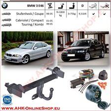 BMW SERIE 3 2005-2012 E91 Familiare Gancio traino estraibili kit elettrico 7poli