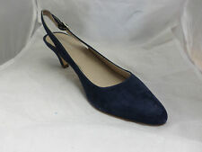 Shoon Ascot Shoes- Dark Blue RRP£69.99 UK 6 EU39 JS11 91