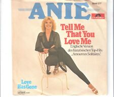ANIE - Tell me that you love me  ***Aut - Press***