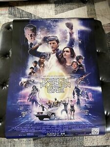 Ready Player One Theatrical Poster 27x40 D/S NEAR MINT Never Used SEE PHOTOS