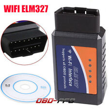 ELM327 V1.5 OBD2 Car WIFI Interface Diagnostic Tool Scanner For Android/IOS