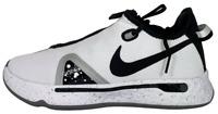 Nike PG 4 Paul George White Black Oreo CD5079 100 Men's Basketball Shoes Size 8