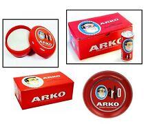 Arko Shaving Soap 75g/90g In Case Bowl   Classic Wet Shaving   Luxurious Lather