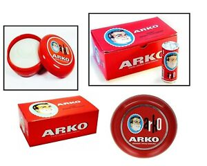 Arko Shaving Soap 75g/90g In Case Bowl | Classic Wet Shaving | Luxurious Lather