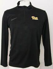 NEW Pittsburgh Pitt Panthers Nike Dri-Fit LS Intensity 1/4 Zip Shirt Men's L