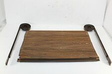 Vintage Tambour Sliding Door Assembly Coil Track From Sea Ray Sundancer