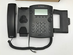Polycom VVX 301 Phone for Business  2200-48300-001 Black, Gently Used