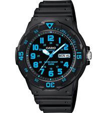 Casio Gents 24 Hour Dial Analogue Day Date Water Resistant Watch MRW-200H-2BVDF