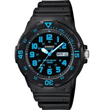 Reloj Analógico Casio Caballeros 24 hora Cuadrante Día Fecha Resistente Al Agua MRW-200H -2 bvdf