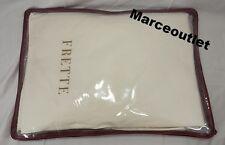 Frette Double Ajour 100% Egyptian Cotton QUEEN Sheet Set Ivory