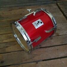 More details for sonor tom drum 10 x 10 phonic plus, candy apple red used! rk10ts240821