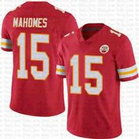 Patrick Mahomes Kansas City Chiefs Jersey #15- Red- S, M, L, XL, XXL, and XXXL