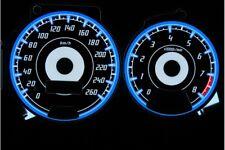 Subaru Impreza 1996-2000 design 1 glow gauges dials plasma dials kit tacho glow