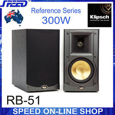 Klipsch RB-51 Reference Series Bookshelf Speakers (pair) - Black Ash