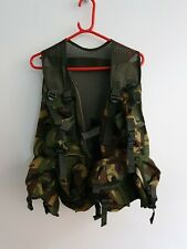 British Military Amr Dpm Woodland Tactical Load Carrying Assault Vest pouches